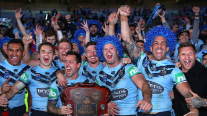 NRL defends decision to axe national anthem from State of Origin