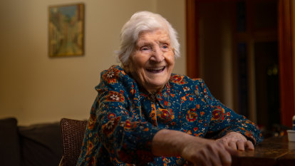 Marija hits 107 thanks to social isolation on her childhood island