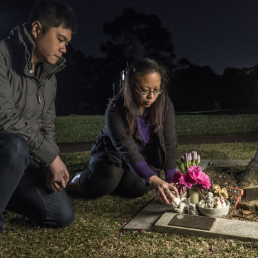 Marie and Mitch Cruz are calling for a coronial inquest into the death of their three-year-old daughter Caitlin.