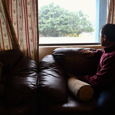 Abdul* at his home in Perth.