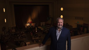 Hospitality consultant Michael Vale, who is behind a plan to revive the Hub Theatre.