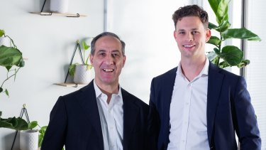 TetraMed chief executive Vince Falbo and chief financial officer Nicholas Fiori.
