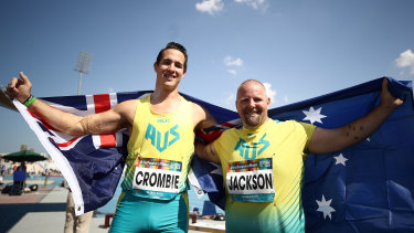 Cameron Crombie and Marty Jackson will not be able to compete in the T38 shot put at next year's Paralympic Games.