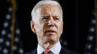 Joe Biden is set to win the Democrat nomination for November's presidential election.