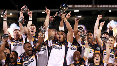 The Brumbies were crowned Super Rugby AU champions in 2020.