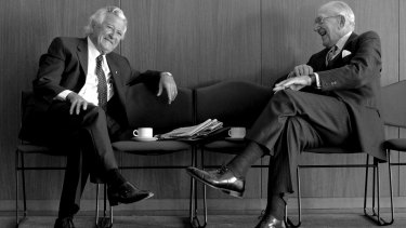 Mormon records wrongly list Bob Hawke as having died; the church also incorrectly baptised Malcolm Fraser before he had died.