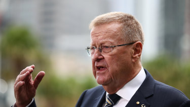 John Coates is back as an IOC vice-president.