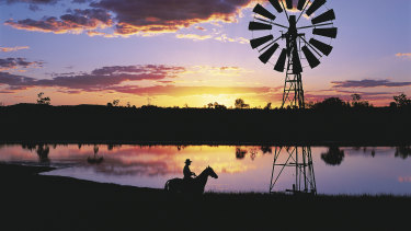 Queensland's Longreach, where occupancy has been at 97 per cent this year.