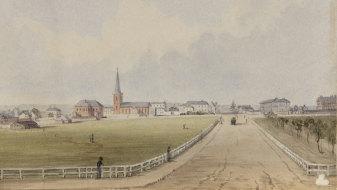 Hyde Park circa 1880.