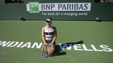 2019 champion Bianca Andreescu.