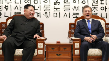Many South Koreans were struck by the live TV images during the summit of a smiling and joking Kim.