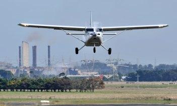 The Australian-made Gippsaero GA8 Airvan is popular with skydivers.