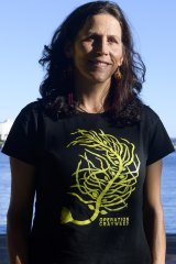 Marine scientist and seaweed expert Adriana Verges.