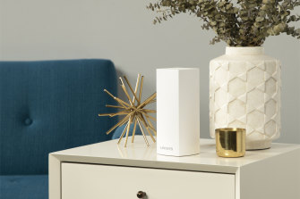 Linksys Aware uses the company's mesh Wi-Fi devices to detect motion in your home.