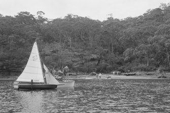 Sugarloaf Bay, scene of the attack on January 28, 1963.