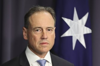 Health Minister Greg Hunt said the AHPPC has been asked to review its decision to not mandate COVID-19 vaccines for aged care workers.