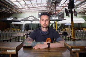 Karl van Buuren says Moon Dog brewery is still planning for a November 2 reopening.