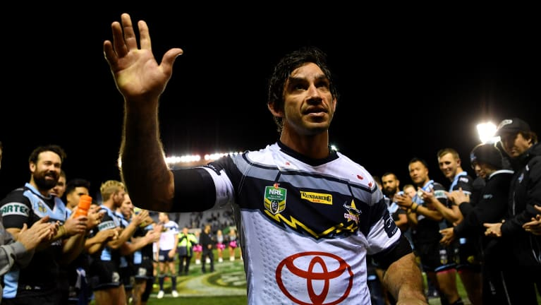 Last hurrah: The modern-day great will bid farewell to home fans in Townsville on Friday.