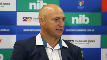 Price has plenty of gratitude for current Knights coach Nathan Brown.