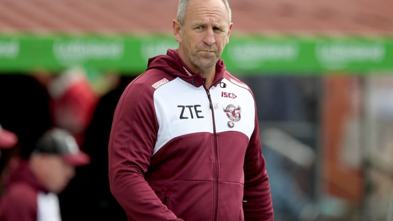 Heir apparent: John Cartwright is the favourite to succeed Trent Barrett as Manly coach.