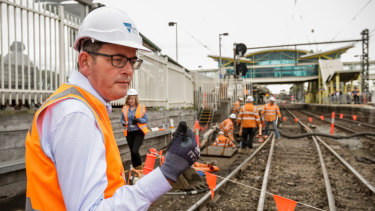 Action man: The Premier, complete with hard hat.