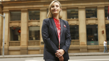 Dr Sarah Hill, photographed at the time of her appointment as the chief executive of the Greater Sydney Commission.