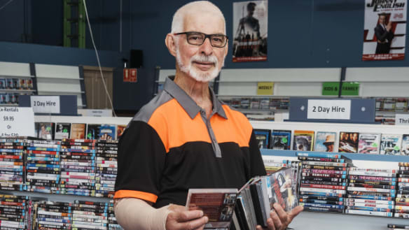 An unexpected challenge is about to close down one of our last DVD stores