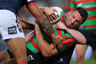 Sam Burgess called time on his NRL career after the 2019 season due to a chronic shoulder injury.