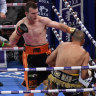 As it happened: Jeff Horn knocks out Anthony Mundine in first round