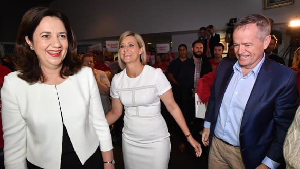 Labor on high at Longman campaign launch