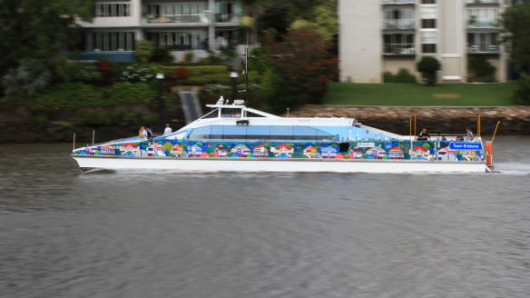 Timetable changes for Brisbane's CityCat and City Ferry services