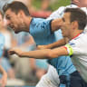 De Jong, Redmayne magic helps Sydney FC clinch victory over Adelaide