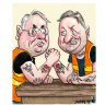 Labor heavyweights arm-wrestle over super prize
