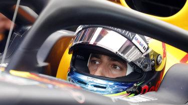 Outgoing Red Bull driver Daniel Ricciardo.
