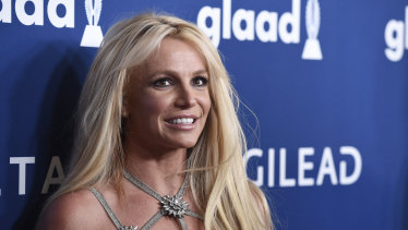 """Britney Spears says the legal conservatorships has """"too much control"""" over her life."""