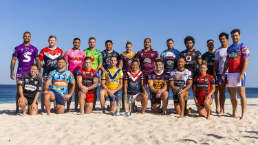 Life's a beach: The NRL Nines should provide excitement galore.