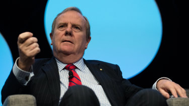 Former federal treasurer Peter Costello has warned on the risks posed by ultra-low interest rates.