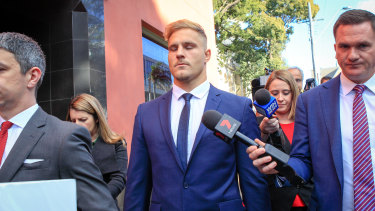 Jack de Belin's legal battle has been a huge distraction for the Dragons.
