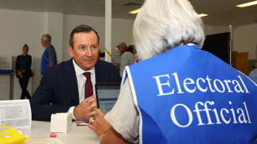 WA Premier Mark McGowan was reelected when the state went to the polls, which typically requires the employment of thousands of part-time workers.