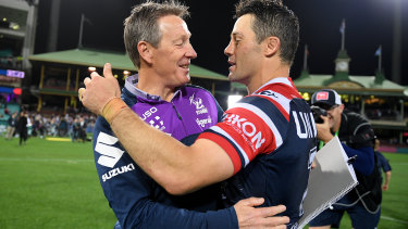 Cooper Cronk says Craig Bellamy typically has the Storm well placed to start with flying colours after a break.