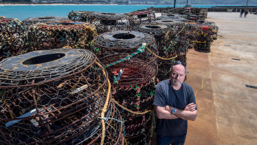 Markus Nolle wants Victorians to embrace locally caught lobster to support the industry.