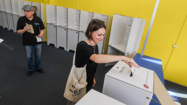 About half of all registered voters are likely to cast their ballots before election day.
