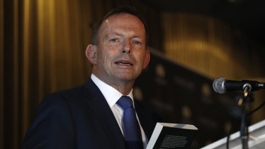 Former prime minister Tony Abbott launched his sister Christine Forster's book Life, Love and Marriage, last week.
