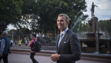 "Public Spaces Minister Rob Stokes said planning for open space had been ""ad hoc"" in the past."
