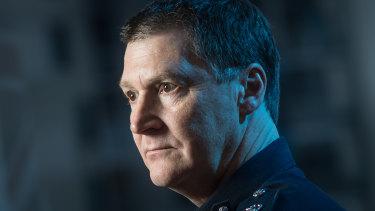 Police Chief Commissioner Shane Patton.
