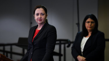 Premier Annastacia Palaszczuk has conceded the first days of term two could be confusing for some parents.