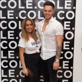 Hairdresser Tom Cole, pictured with ex-wife Mariah Rota, is opening a new salon in Double Bay.