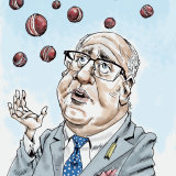 Cricket Australia chairman Earl Eddings.