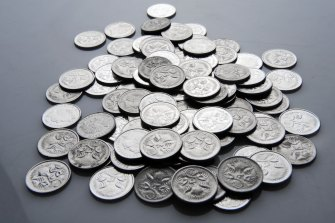 Five cent pieces ... a collector's item?
