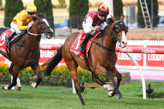 Streets ahead: Streets of Avalon wins at Moonee Valley.